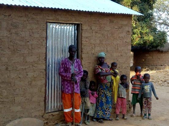1% podatku na pomoc dla niewidomych w Ngaoundaye (RŚA)