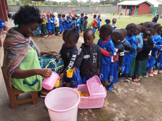 Remonty w przedszkolu w Bertoua-Mokolo (Kamerun)