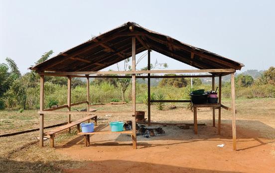Budowa kuchni dla szkoły w Abong-Mbang (Kamerun)
