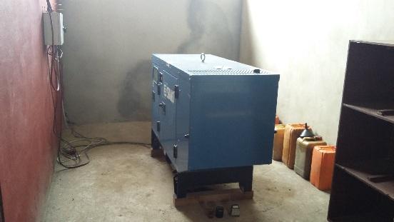 Zakup agregatu prądotwórczego dla miasta Bélabo (Kamerun)