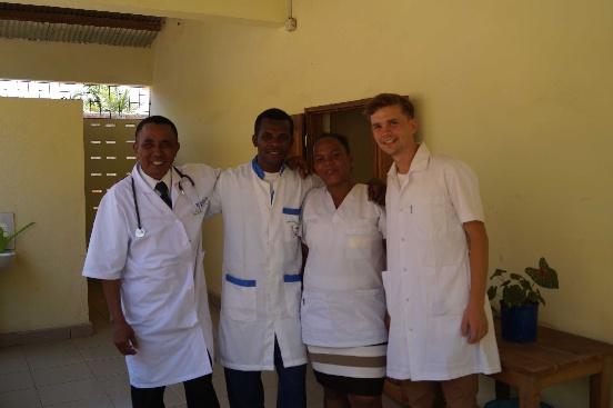 Analizator hematologiczny dla przychodni zdrowia w Mampikony (Madagaskar)