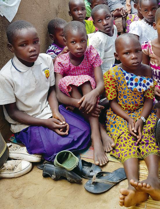 Szkolny autobus dla dzieci w Kiabakari (Tanzania)