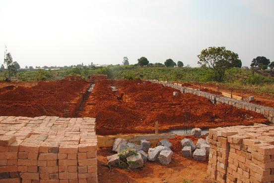 Budowa domu dziecka w Mampikony (Madagaskar)
