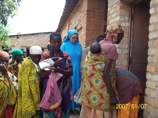 Interwencyjne dożywianie w Gatarze (Burundia)