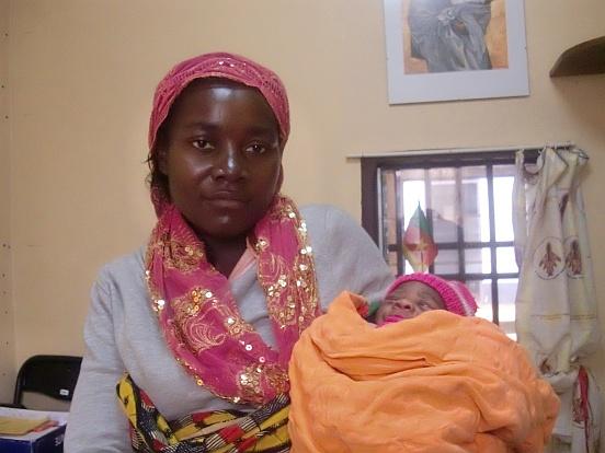 Leki i odczynniki dla chorych na AIDS w Essengu (Kamerun)