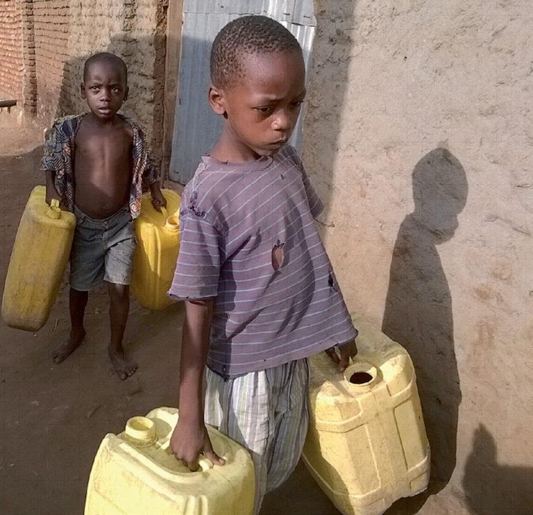 Brak wody