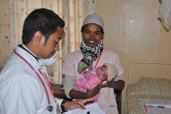 Karetka dla szpitala w Antsirabe (Madagaskar)