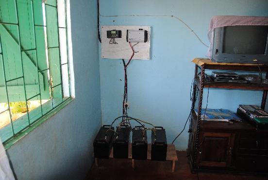Kolektory słoneczne dla Domu Dziecka w Mampikony (Madagaskar)