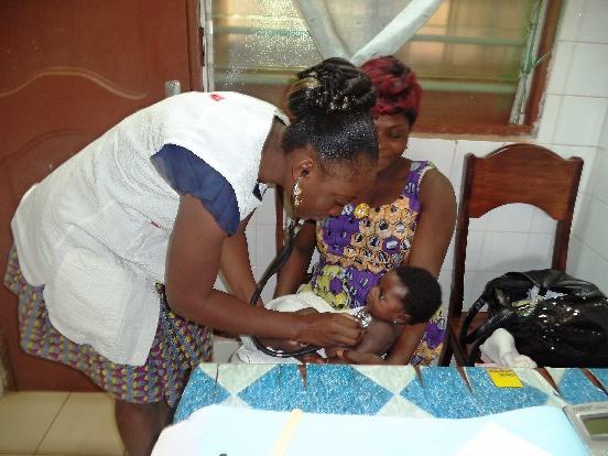 Przychodnia w Lome (Togo)