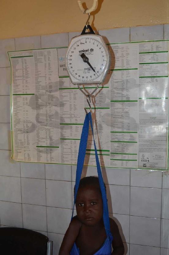 Leczenie i edukacja Johna (Togo)