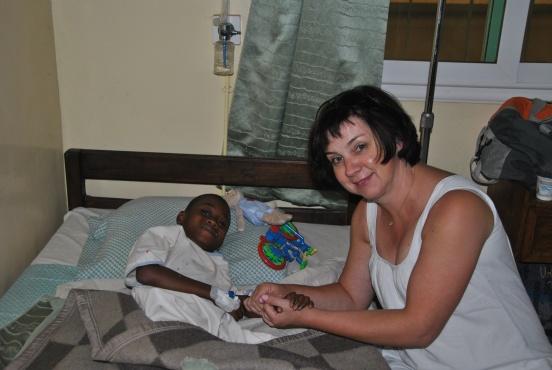 Leczenie pacjentów na Madagaskarze