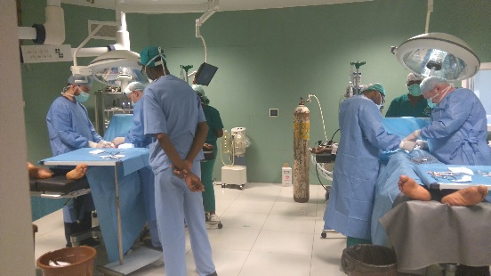 Misja medyczna w Sangmelimie (Kamerun)