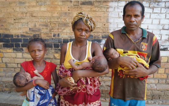 Ratowanie życia niedożywionych dzieci w Mampikony (Madagaskar)