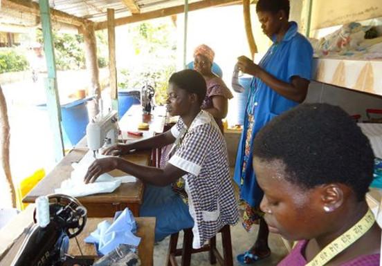 Remont i uruchomienie młyna w Helocie (Togo)