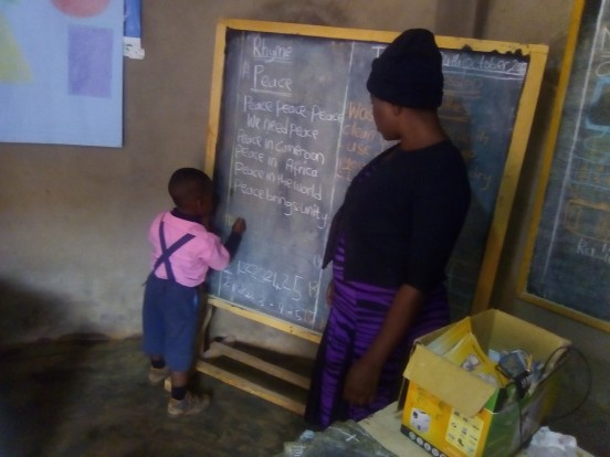Wynagrodzenie dla nauczycieli wiejskich szkół podstawowych w okolicach Bafoussam (Kamerun)