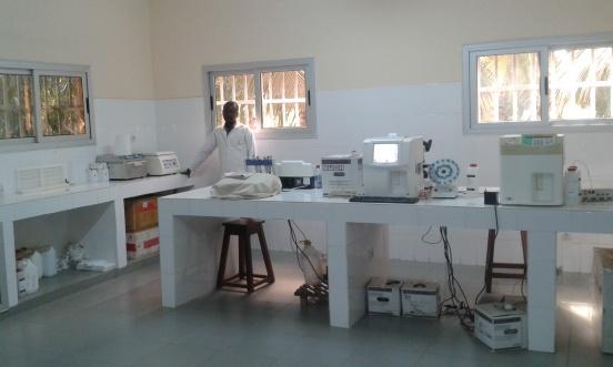 Zakup odczynników do laboratoriów w Hélocie, Bassar i Loméogo (Togo)
