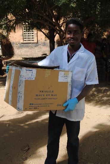 Akcja odrobaczania ponad dziesięciu tysięcy osób na Madagaskarze