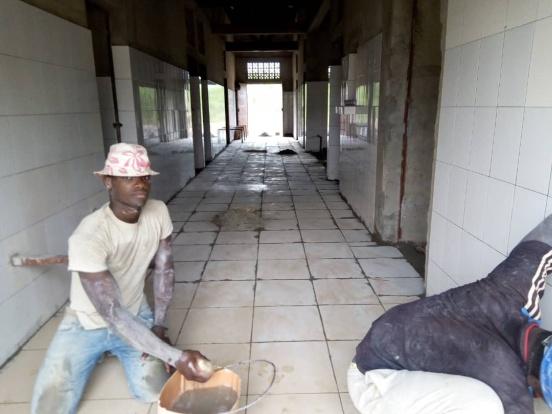 Zaplecze dla ośrodka zdrowia w Gmassadjoun (Togo)