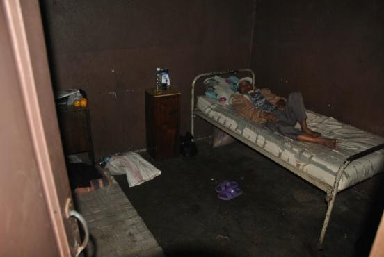 Piętro dla rodzin pacjentów szpitala w Antsirabe (Madagaskar)