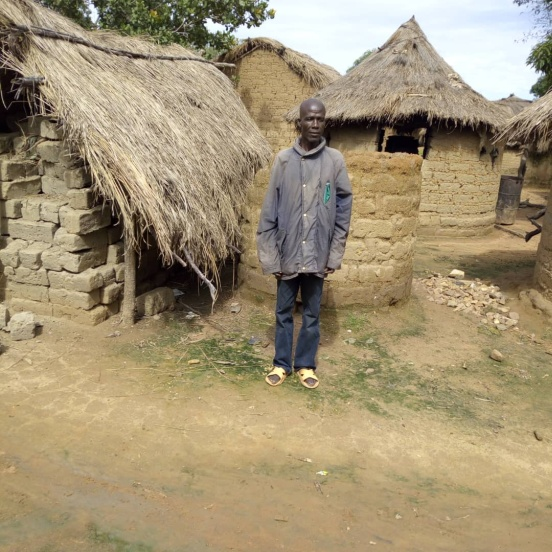 1% podatku na pomoc dla niewidomych w Ngaoundaye (Republika Środkowoafrykańska)