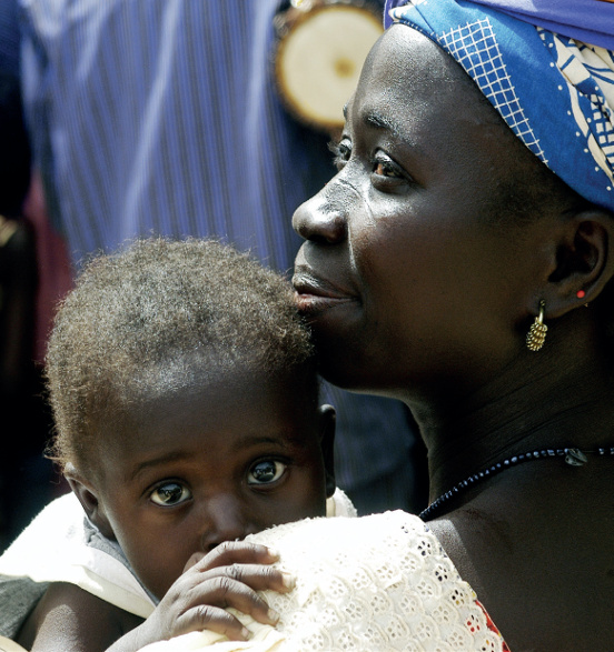 Budowa porodówki w Dokpale (Wybrzeże Kości Słoniowej)