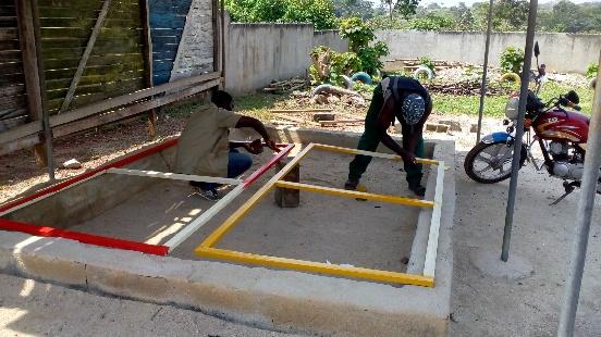 Remont przedszkola w Bertoua Mokolo (Kamerun)
