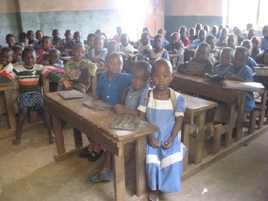 Budowa studni dla szkoły w Ndelele (Kamerun)