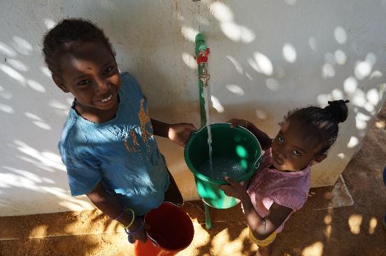 Studnie w Mampikony (Madagaskar)