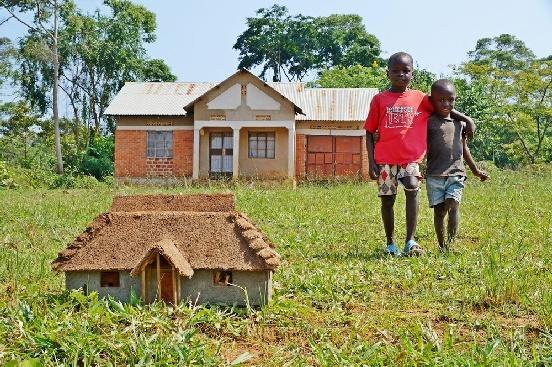 Budowa szkoły w Kiruddu (Uganda)