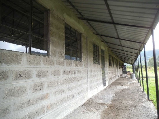 Toalety dla szkoły w Subukii (Kenia)