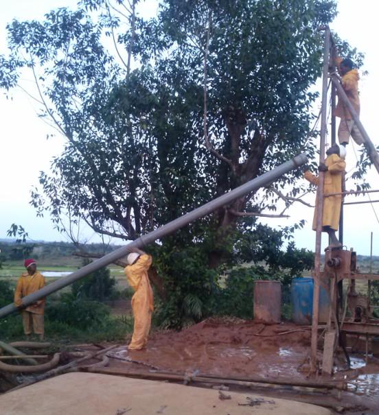 Budowa ujęcia wody w Toamasina (Madagaskar)