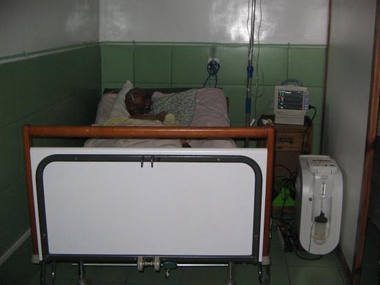 Urządzenia dla szpitala w Antsirabe (Madagaskar)