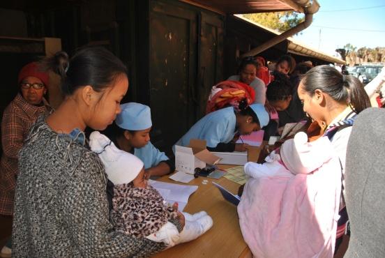 Wyposażenie szpitala w Antsirabe (Madagaskar)