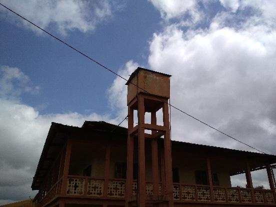 Budowa zbiornika na wodę dla ośrodka zdrowia w Ayos (Kamerun)