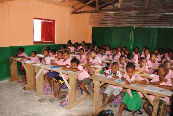 Rozbudowa szkoły w Naro (Madagaskar)