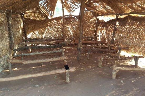 Budowa gimnazjum w Mbaikoro (Republika Czadu)