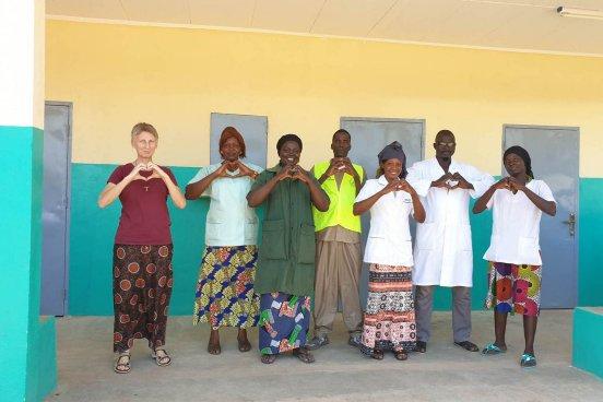 Budowa ośrodka zdrowia w Mbaikoro (Republika Czadu)