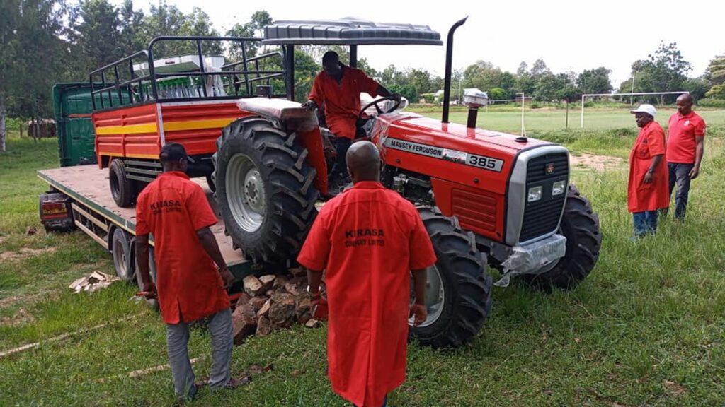 Sprzęt rolniczy dla ubogich w Kiabakari (Tanzania)