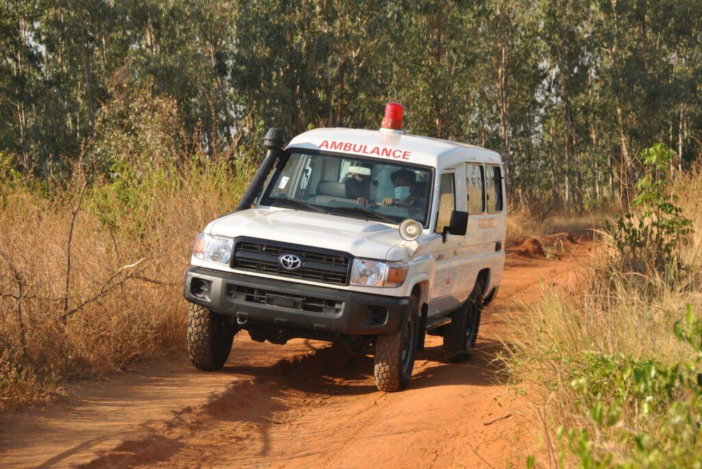 Wspófinansowanie karetki dla Mampikony (Madagaskar)