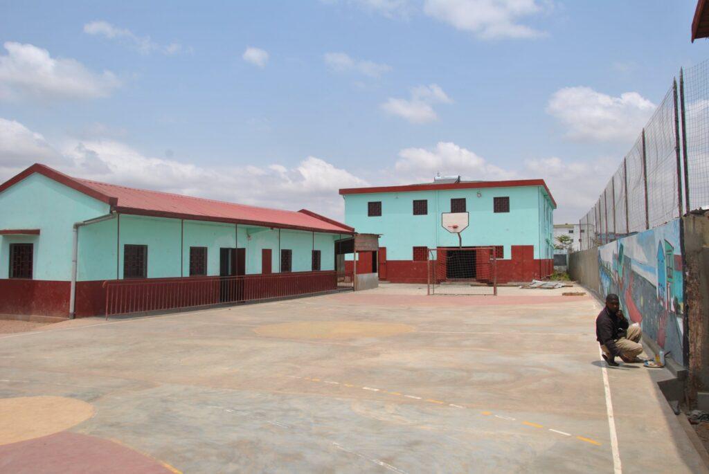 Gabinet medyczny w centrum formacji zawodowej dla dzieci ulicy w Antananarywie (Madagaskar)