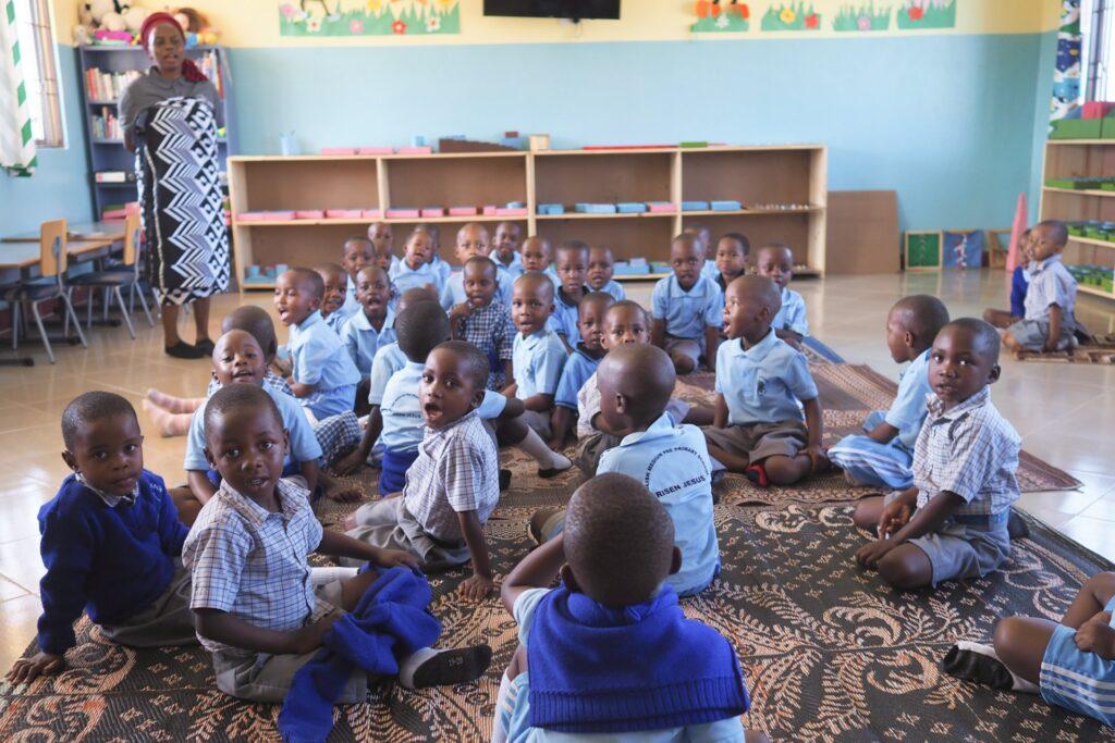 Toalety dla przedszkola w Musoma (Tanzania)