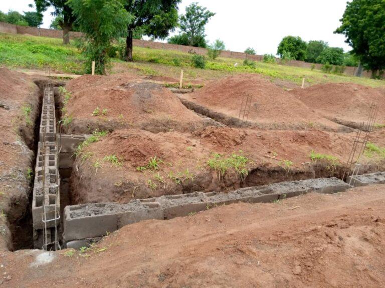 Budowa porodówki w Madingring (Kamerun)